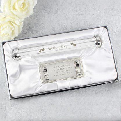 Personalised Wedding Certificate Holder