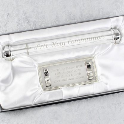 Personalised Cross Certificate Holder