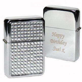 Personalised Diamante Lighter