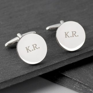 Personalised Round Cufflinks