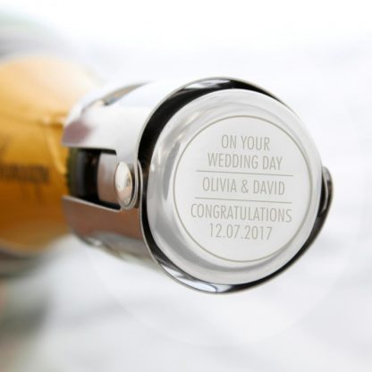 Personalised Classic Bottle Stopper