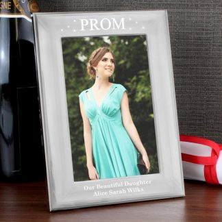 Personalised Prom Night Silver 6x4 Photo Frame