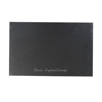 Personalised Script Slate Placemat