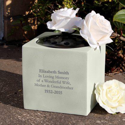 Personalised Memorial Vase