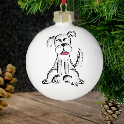 Personalised Dog Bauble