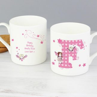 Personalised Fairy Letter Balmoral Mug