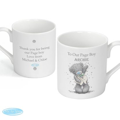 Personalised Me To You Male Wedding Mug