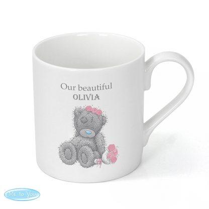 Personalised Me To You Girls Wedding Mug