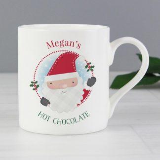 Personalised Christmas Balmoral Mug