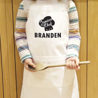 Personalised Junior Chef Childrens Apron