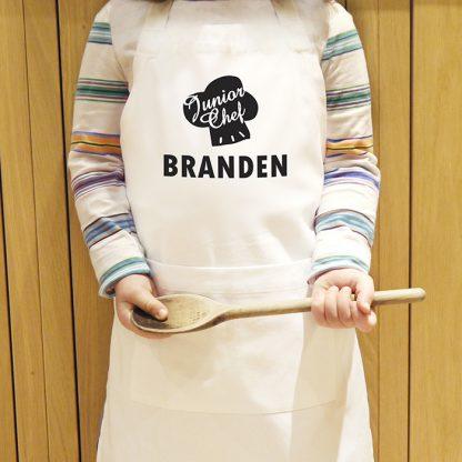 Personalised Junior Chef Childrens Apron