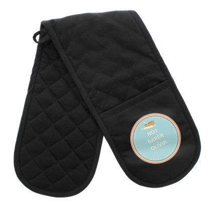 Personalised Baker Oven Gloves