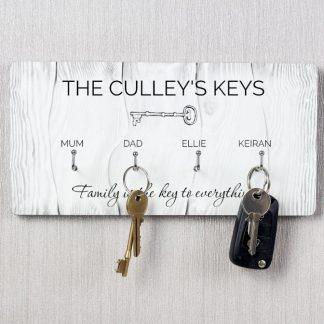 Personalised Keys Hooks