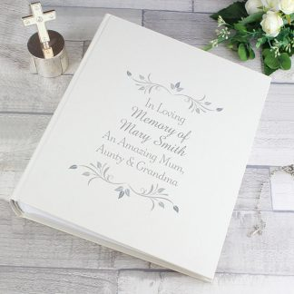 Personalised Sentiments Photo Album