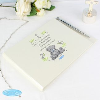Personalised Me To You Natures Blessing Guest Book