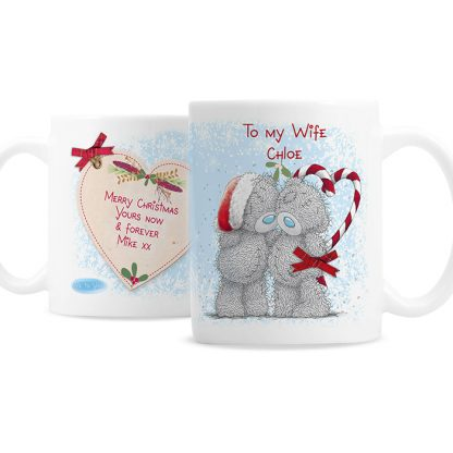 Personalised Me To You Couples Christmas Mug
