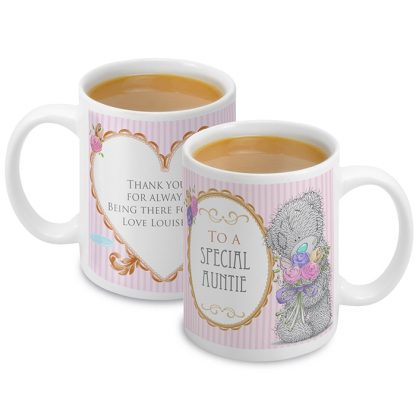 Personalised Me To You Flowers Mug For Her