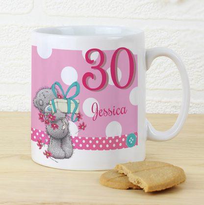 Personalised Me To You Big Age Female Mug