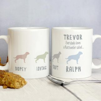 Personalised Rottweiler Dog Breed Mug