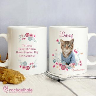 Personalised Rachael Hale Cute Kitten Mug