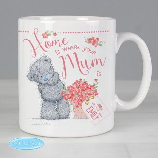 Personalised Me to You 'Home is Where Your Mum is' Mug
