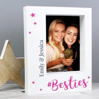Personalised Bestie 7x5 Box Photo Frame
