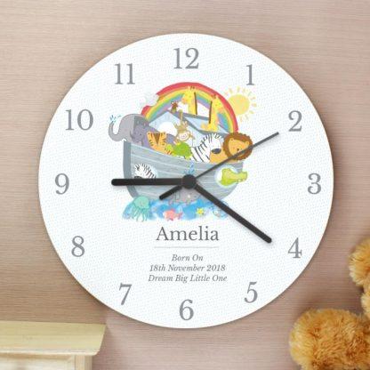 Personalised Noah's Ark Clock