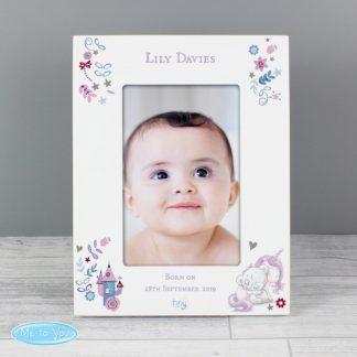 Personalised Tiny Tatty Teddy Unicorn 6x4 Frame
