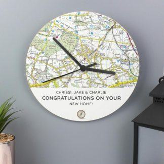 UK Postcode Map Gifts
