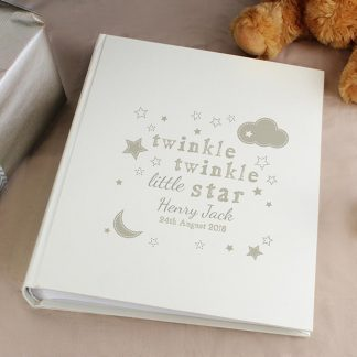 Personalised Twinkle Twinkle Photo Album