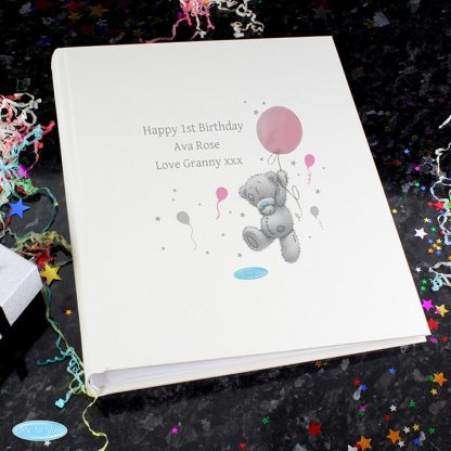 Personalised Me To You Pink Balloon Photo Album