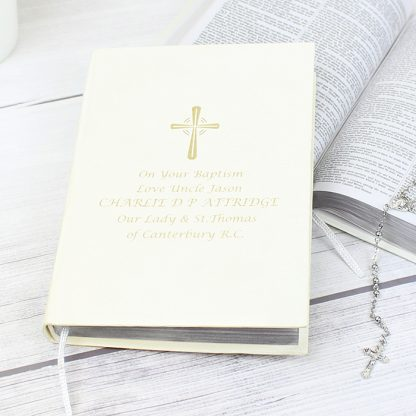 Personalised Gold Companion Bible
