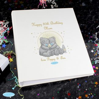 Personalised Me To You Gold Stars Photo Album