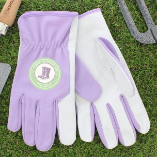 Personalised Head Gardener Medium Gardening Gloves