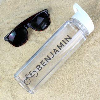 Personalised Bicycle Island Water Bottle