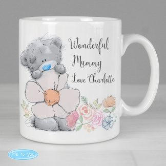 Personalised Me to You Floral Flower Mug