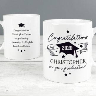 Personalised On Your Graduation Mug