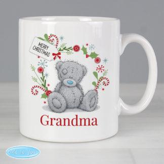 Personalised Me to You Female Christmas Mug
